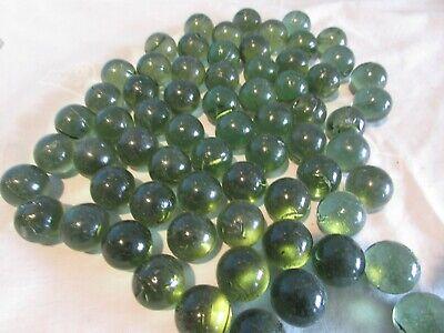 ARSUK Decorative Glass Pebbles Stones Beads Stones Gems Green 2KG 400 Pcs