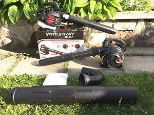 Murray Select 25cc2-Cycle Gas Blower & Vacuum. Model MS210