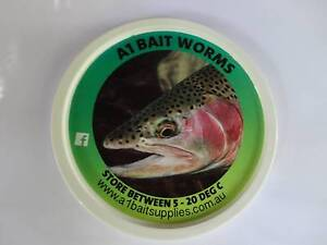 Fishing Bait Worms A1 Bait Worms x 4 Packets Delivery Included Gladysdale Yarra Ranges Preview