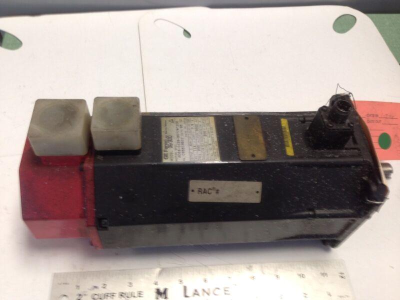 Used Ge Fanuc 6/3000, A06b-0128-b677#f208 Ac Servo Motor,3ph,114v,rpm 3000 Ea