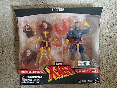 Hasbro Marvel Legends TRU Exclusive X-Men 2-Pack: DARK PHOENIX &  CYCLOPS MIB