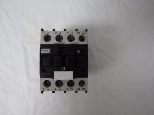 DAYTON IEC CONTACTOR 6EAV6 600V