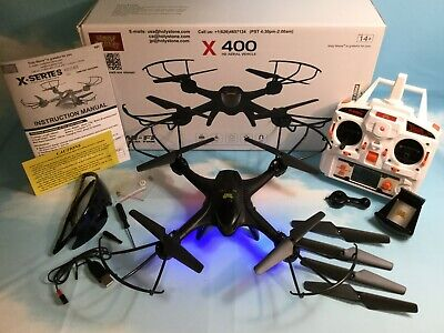 Holy Stone X400C FPV Quadcopter Drone Wifi Camera Live Video Headless Mode RTF