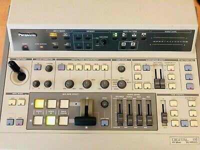 Panasonic Digital Audio Video Switcher Mixer WJ-MX12 SD