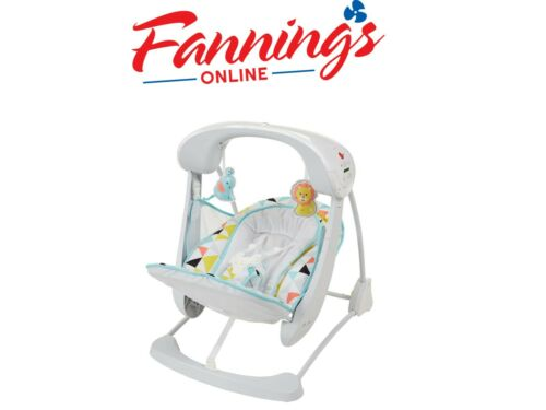 New Fisher-Price Deluxe Take-Along Swing & Seat Opened Box