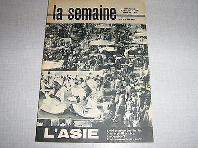 LA SEMAINE 01 (6/1/63) L'ASIE