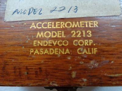 Endevco 2213 Accelerometer