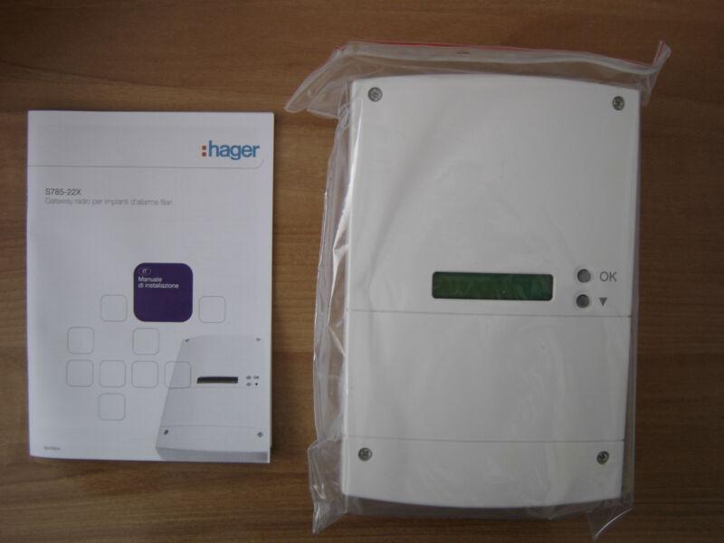 Logisty Hager S785-22X Gateway Interface 32 Radio Essorage Interface Expert