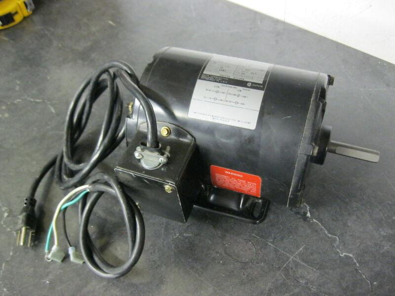 DELTA 62-070 Motor 1/2 hp 115v 1725 RPM Fits 28-560 Band Saw