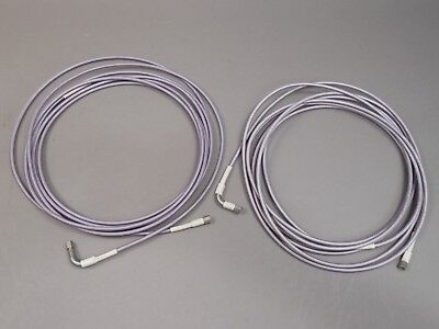 Lot Of 2 Microwave Test Cable 17ft Gore Cable Assembly Sma Male Male