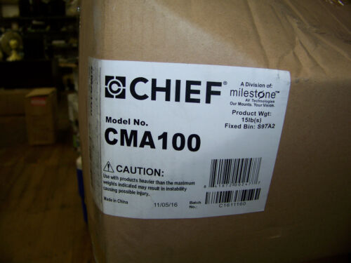 Chief Ceiling Mount for Projector Black CMA-100