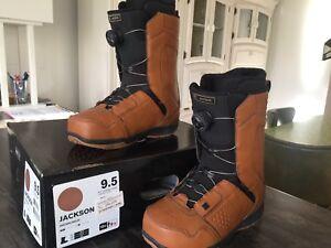 Bottes de snow homme cuir 9.5