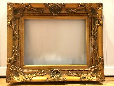 "20 x 20  Plein air Picture Frame Hand Applied Gold Metal Leaf  /""Best Quality/"""