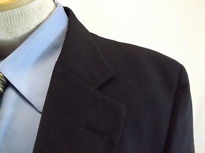 42 L Wynbrooke Younkers Mens Blazer Jacket  Navy Blue Suit Coat 42 L