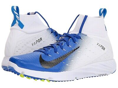 bc367dc7f1 Nike Mens Vapor Untouchable Speed Turf 2 Football Cleat Blue 917169-101  Size 10