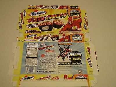 Hostess  Interstate Brands  Flash Cakes Cupcakes Empty Collectible Box