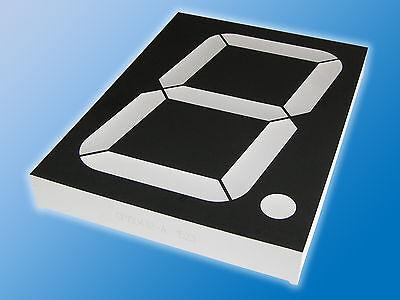7-Segment Anzeige CP150432-A KW1-4001AW Weiß | Symbolhöhe 101,6 mm | gem. Anode