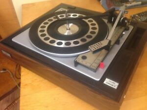 Vintage BSR 3 Speed Turntable Model 28667. No Dust Cover