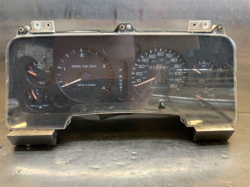 Dodge Ram Cummins 94-97 12 Valve Gauge Cluster Tach Automatic Panel 11109