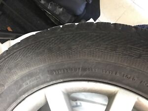 17 inch winter tires/rims Nord Frost 5 Gislaved
