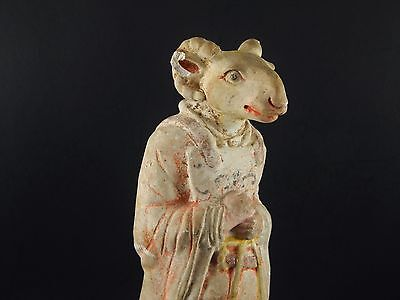 Possibly Important Han or Tang Zodiac Figure of Ram Goat No Thermoluminescence