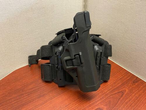 Blackhawk Serpa Tactical Lv3 Drop Leg Holster Glock 17 19 22 23 RIGHT HAND QDS