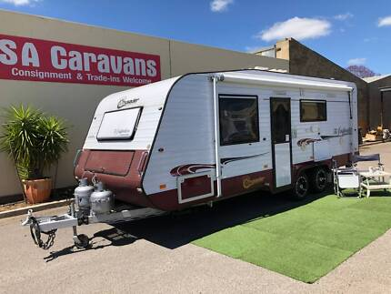 """2012 CRUSADER """"THE INSPIRATION"""" 22' with REAR ENSUITE Klemzig Port Adelaide Area Preview"""