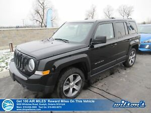 2017 Jeep Patriot HIGH ALTITUDE 4X4 | LEATHER | SUNROOF | POWER