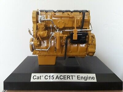 Case of 5 Caterpillar CAT C15 ACERT Engine 1/12 Scale Diecast w Box