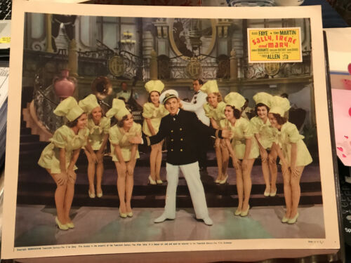 Sally, Irene And Mary 1936 20th Century Fox musical lobby card Jimmy Durante