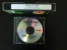 Roland JV-1080 instruction video manual Oakleigh East Monash Area Preview