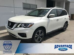 2017 Nissan Pathfinder Platinum Clean Carfax - One Owner - Le...