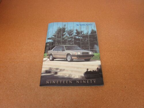 ORIGINAL 1990 Volvo 780 Bertone 740 760 240 media press kit brochure photos