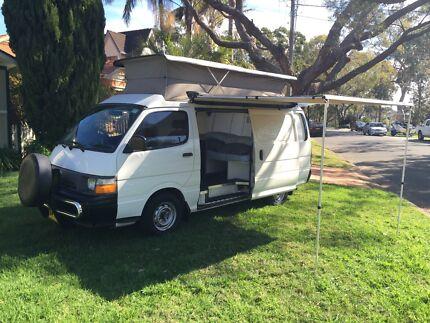 Toyota Hiace- Pop Top Camper Van  Como Sutherland Area Preview