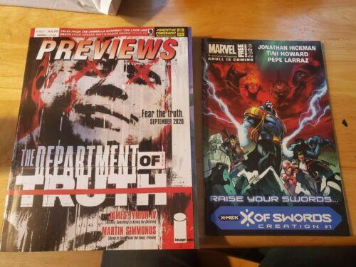 Previews Comic Shop Catalog #382 July 2020