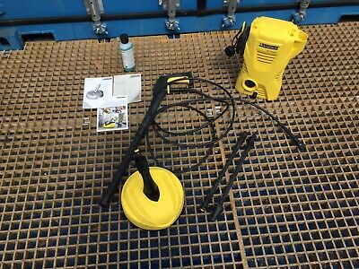 Karcher K2 Pressure Washer including lance and patio washer attachment