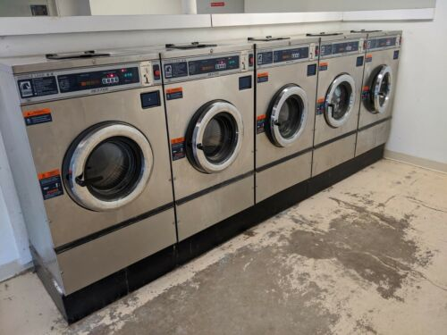 Dexter Commercial Washers and Maytag Commercial Dryers coin operated