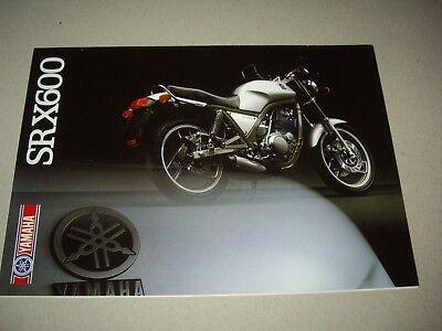 Yamaha SRX600 sales brochure
