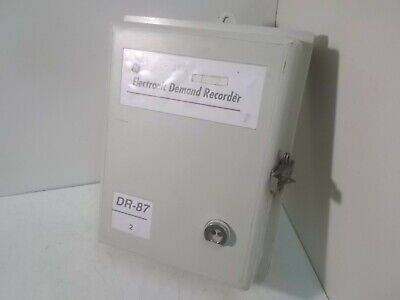 Ge 733x021g103 Dr-87 Electronic Demand Recorder Version 1013
