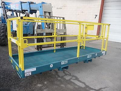 Safety Work Platform Aerial Man Lift Basket Cage Scissor Telehandler Fork Genie