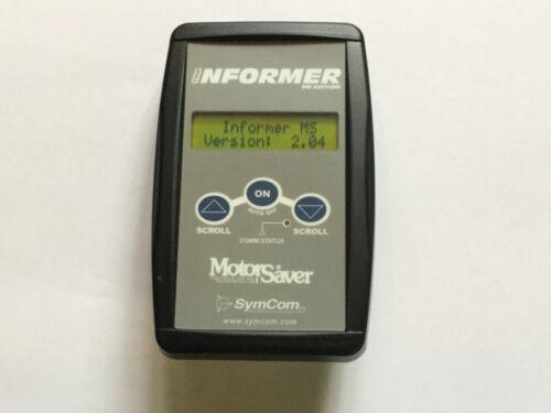 Symcom Informer MS, Diagnostic Motorsaver Tool