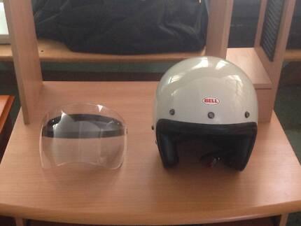 Motorcycle Helmet XL Bell Open Face