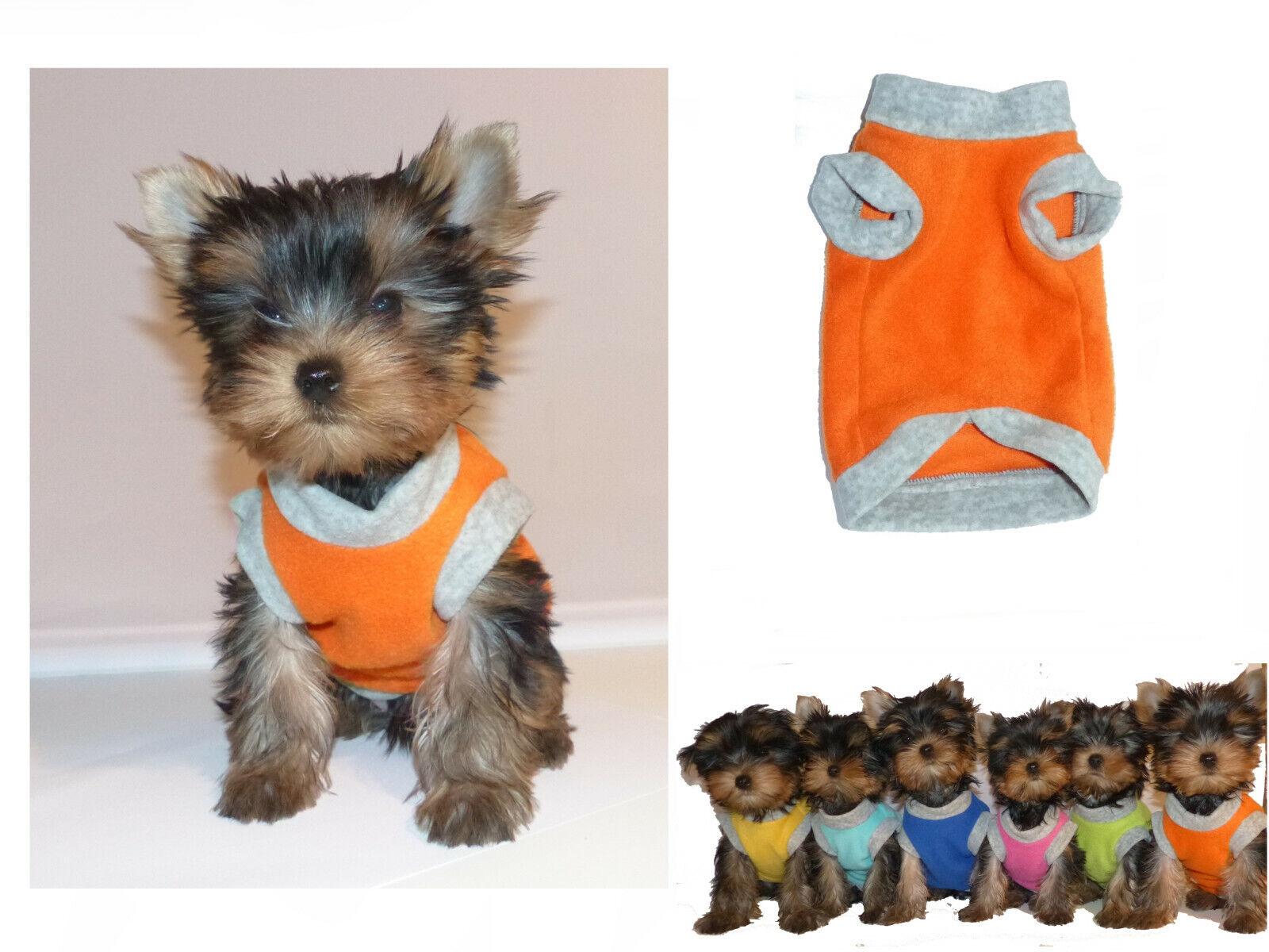 Hundeshirt Hundepullover nach WUNSCH Hundekleidung XXXS XXS XS Yorkie Chihuahua