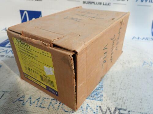 New in Box SQUARE D 2510MCG3 Manual Motor Starter 10 HP 3 Phase Nema 1