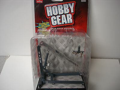 Engine Hoist - Gray  - Hobby Gear -1/18,  1/24 & G Scale - by PHOENIX TOYS