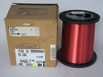 36 Awg 17 Lbs. Elektrisola Pn155 Single Enamel Coated Copper Magnet Wire