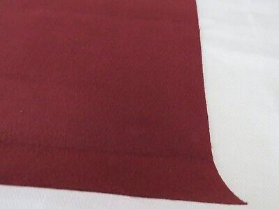 Kirkby Design Suede FR Venetion Red 2 mtres
