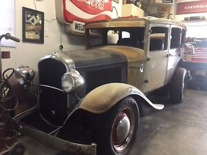 Emmaculate Rust free 1931 Plymouth