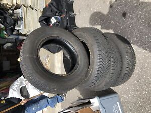 Goodyear winter tires  215/70R15