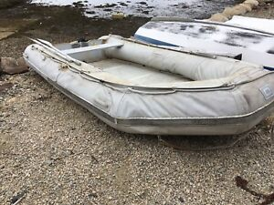 12' Quicksilver 380 inflatable.   To trade for smaller.